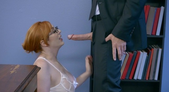 Horny ginger writhing gets..