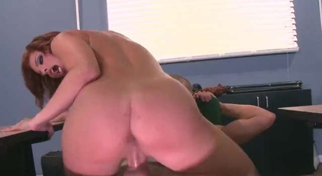 Britney Amber nails the..