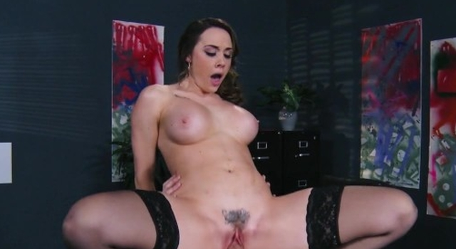 Chanel Preston helps her CEO..