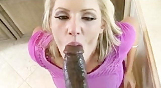 Cheating Big-tit blonde MILF..